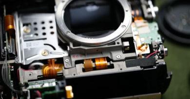 Demonterar sin Canon 1D X Mark II, för att se vad som som gömmer sig bakom skalet