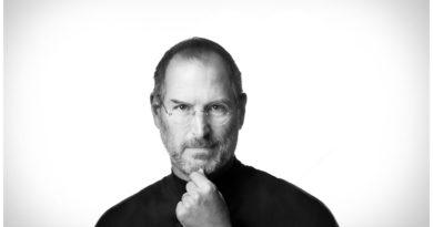 Steve Jobs legendariska porträtt till salu i Stockholm