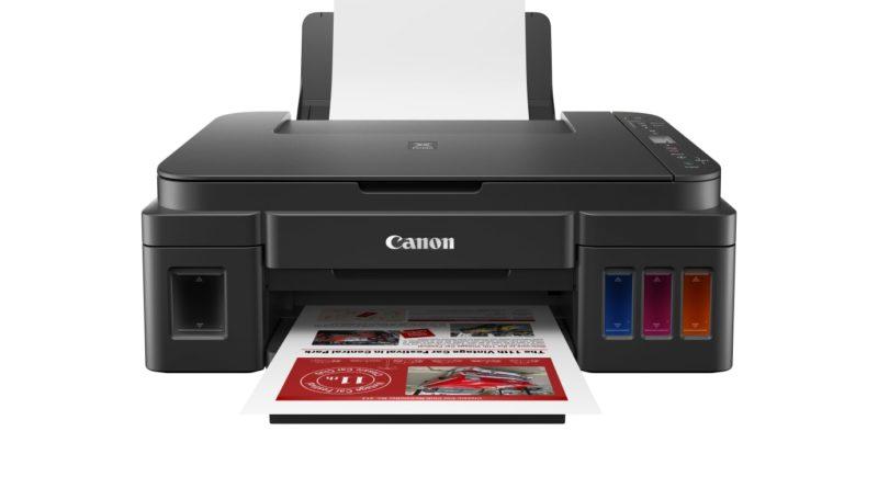 Canon presenterar skrivarserien PIXMA G med refillbehållare