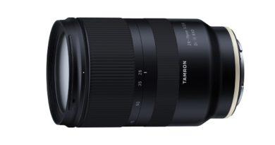 Tamron aviserar 28-75mm f/2.8 för Sony E